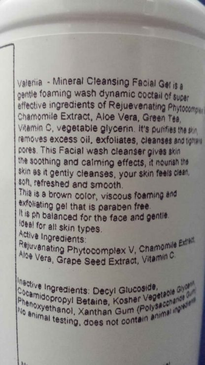 Valeriia Mineral Cleansing Facial Gel-366